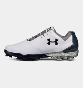 Under Armour Men's Match Play E Golf Shoes 3020803-100 Size 8-10.5