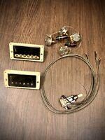 Gibson Custombuckers PAF Pickups, Pots, Capacitors & Switchcraft selector NEW