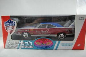 1:18 Ertl Supercar 1 - Sox & Martin Series #1 -1970 Plymouth Superbird NIP