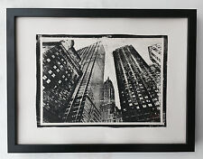 New York skyscrapers - Gum Dichromat Print