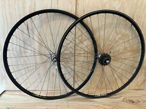 Wolber TX Profil Campagnolo Naben • klassischer Laufradsatz • vintage wheel set