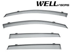 For 02-06 Suzuki Aerio SX 5Dr Wagon WellVisors Side Window Visors W/ Black Trim