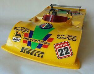 Alfa Romeo 33 TT Can Am Reel Model 1/12 Scale ? Plastic Toy For Repair