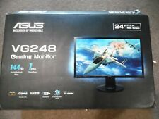 "Asus Gaming Monitor- VG248QE 24"" Full HD 1920x1080 144Hz 1ms HDMI,Black"