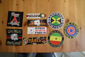 Stickers Autocollants PSG Paris Football Ultras Casual Supras Auteuil 1991