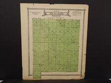 Nebraska Boone County Map Plum Creek Township  c.1918  J14#48