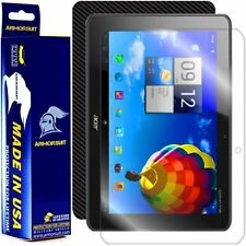 ArmorSuit MilitaryShield Acer Iconia Tab A510 Screen Protector + Black Carbon