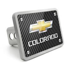 Chevrolet Colorado 2012 UV Graphic Carbon Fiber Texture Billet Aluminum 2 inch T