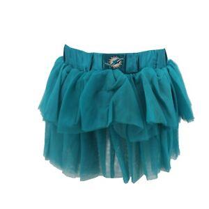 Miami Dolphins Official NFL Apparel Infant Toddler Girls Size Tutu Skirt Bottoms