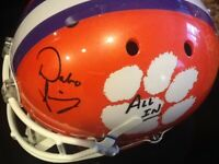 Dabo Swinney Clemson Tigers Signed Football Helmet FULL SIZED!