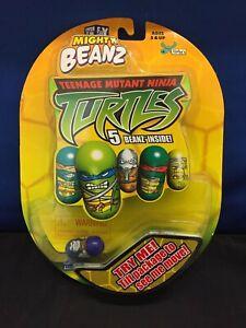Teenage Mutant Ninja Turtles Mighty Beanz (2003) Sealed Pack of TMNT Beans