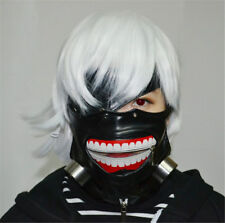 Cosplay Tokyo Ghoul Kaneki Ken Adjustable Zipper Belt Prop Mask Halloween Par RN