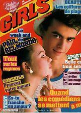 MAGAZINE GIRLS n°183 ¤ 1983 ¤ PAUL BELMONDO