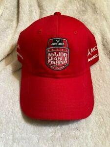 New MLF MAJOR LEAGUE FISHING Jack Links YETI COOLERS Bass TOURNAMENT TOUR HAT