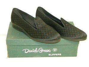 """VTG, Women's, Daniel Green, """"Felice,""""  Casual Slippers, Black, Size 7.5B"""