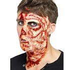 Vestito per Halloween Latex BRUCIATURA FACCIA CICATRICE effetto Make Up da