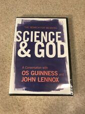 NEW The Search for Meaning Science & God Conversation OS Guinness & John Lennox