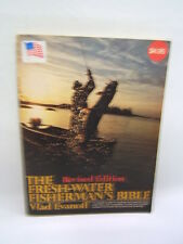 Fresh-Water Fisherman's Bible Revised Edition Vald Evanoff 1980 Illustrated
