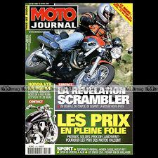 MOTO JOURNAL N°1466 HONDA 600 SILVERWING VOXAN SCRAMBLER 24 HEURES DU MANS 2001