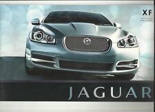 Jaguar Xf 3.0, 2.7, 4.2 V6/v8 Lujo & Supercargado precios folleto de abril de 2008