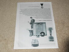 JBL Signature Speaker Ad, 1957, D130, 075, 175dlh Horns, Article, 1 pg, Frame it