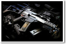 Assault Weapon - Gun Firearm Print POSTER