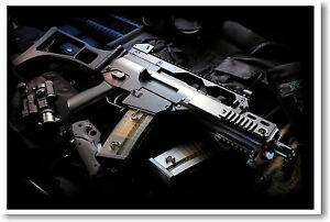 Assault Weapon - Gun Firearm Print POSTER