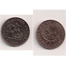 19th Century penny token Bank of Upper Canada 1850   Nice grade
