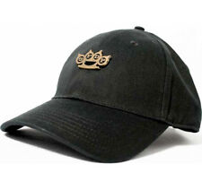 Five Finger Death Punch-Brass Knuckle-Black Tri-Glide Closure OSFA Baseball Cap