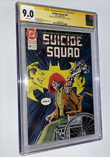 Suicide Squad 49 CGC 9.0 SS Iconic Cover🔑Oracle Batgirl Origin +Personal Sketch