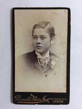 Victorian Carte De Visite CDV Photo - Gentleman - Donald Mac Ives - Leeds