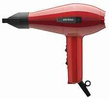 Elchim 2001 Professional Salon Italian Hair Dryer RED - HP High Pressure Blow