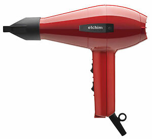 Elchim 2001 Professional Salon Italian Hair Dryer RED - High Pressure 1875W