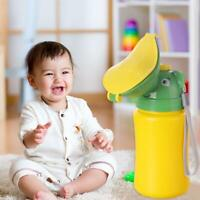 Portable Kids Children Baby Urinal Travel Camping Car Toilet Potty Pee Bottle