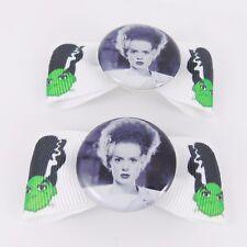 Bride of Frankenstein hair bows Shelley Kitsch Vintage horreur goth psychobilly