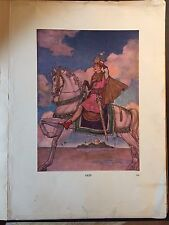 Little Dwarf Nose and the Magic Whistle, 1916 hardcover, Illus Florence Anderson