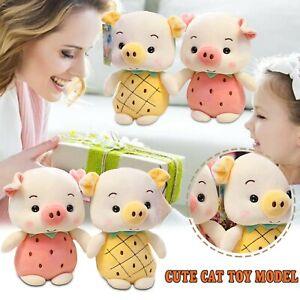 Plush Stuffed Toy Fruit Pineapple Strawberry Doll Piglet Plush Doll For Kids