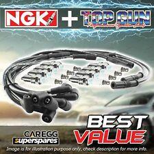 NGK Ignition Spark Plug Leads Wires Kit for Ford Fairlane ZA 4.7L V8 67-68