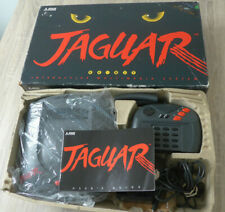 Atari Jaguar Console Boxed Complete With Cybermorph Game - PAL UK