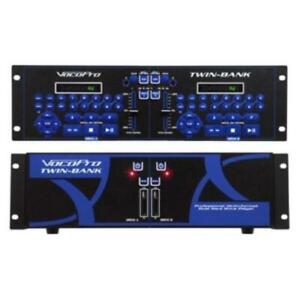 Vocopro Professional Multi-format Dual Hard Drive Player (twinbank)