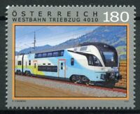 Austria Trains Stamps 2021 MNH Westbahn Triebzug 4010 Railways Rail 1v Set