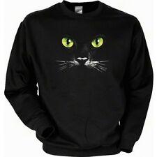 Sweatshirt - Grüne Katzenaugen - Liebling auf Samtpfoten USA Sweater