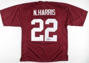 Najee Harris Signed Jersey (Beckett COA)Alabama Crimson Tide