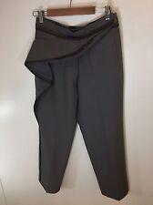 Haider Ackermann Deconstructed Zipper Stripe Pants Size 38