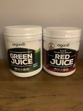 Organifi GREEN and RED Juice Bundle Pack Superfood Supplement NEW