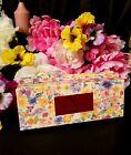 Sango Magna Valentino Garavani Floral Set of Floral Porcelain Napkin Rings RARE