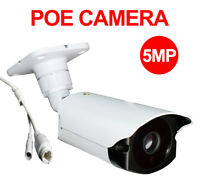 CamHi POE SONY IMX335 5MP IP Camera Outdoor IR 128GB SD Card with MIC Speaker