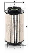 Genuine MANN PU936/2X Fuel Filter volkswagen Audi 503440809