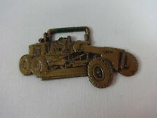 John Deere Grader JD570 Metal Watch Fob Tractor Bulldozer Excavating Combine