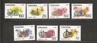 Tanzania SC # 985i-985o Bicycles / Set of 7  .MNH